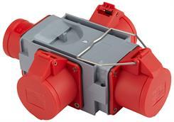 Kompaktforgrener Type A, 16Ah rød
