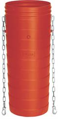 Skrotrør 1,10 mtr m/kæde (skaktrør)