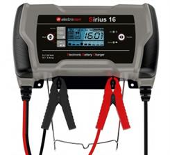 Batterilader Sirius 16, 12-24V/16Ah