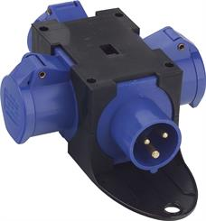 Kompaktforgrener Type B, blå