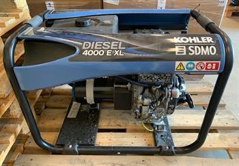 Demo SDMO Diesel 4000 E XL Generator (230V / 3,4 kW) SN# 79672025-17