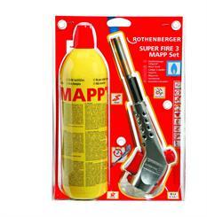 Super Fire 3 MAPP gasvarmesæt