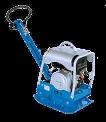 Weber CR1 L pladevibrator (Lombardini)  (118 kg)