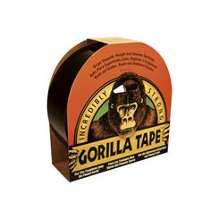 Gorilla tape 25 mm x 9 m. (sort)