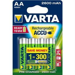Batteri AA, genopladelig