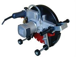 Cardi Kapsav SM410 C m/hjul, 230V/3000W - Ø400/155 mm (til 100 mm retskinne)