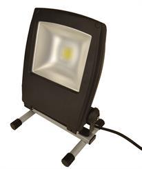 Arbejdslampe LED, 30W/3100 Lumen, på fod.