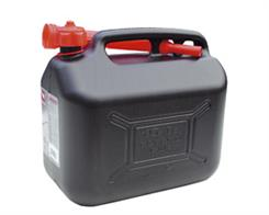 Benzindunk sort 10 liter