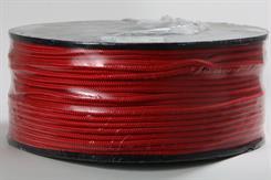 Flisesnor 6 mm x 220 mtr. rød
