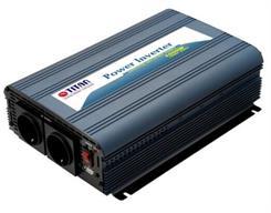 Inverter 1000/2500 W, 12 -> 2 x 230V
