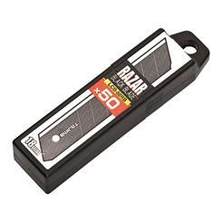 Tajima LCB 50RBC knivblad 50 stk. - 18 mm (sort)