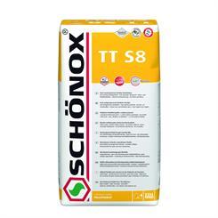 Schönox TT-S8 25 kg Fliseklæb til storformatsfliser, støvreduceret, med lightfiller