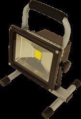 Akku-arbejdslampe LED 20W/1500 lumen