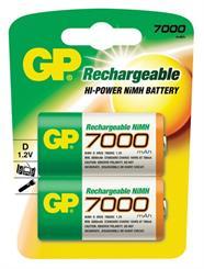 Batteri R20/D, genopladelig 8500mah
