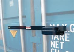 Låsebom 76 cm t/container incl. hængelås