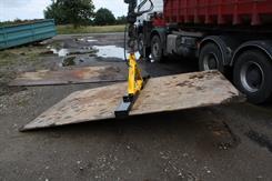 Paick Jernplade kæber PA235, 180-225 cm