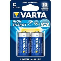 Batteri LR14/C Alkaline 1,5V pk. á 2 stk