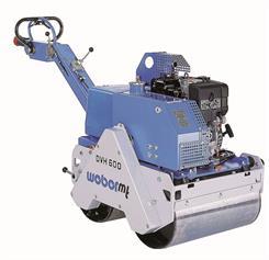 Weber DVH600 Vibrationstromle (420 kg)