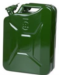 Jerry Can benzindunk 20 liter, Grøn
