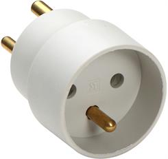 """Stikprop-adapter m/jord """"SCHUKO"""""""