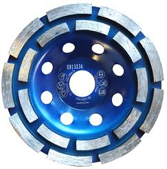 Diamantkopsten 125 mm AktivCut ECO (Dobbelt ring)