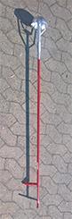 Kloakrenser 15x15 cm x 2,0 mtr.
