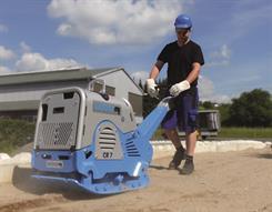 Weber CR7 pladevibrator, Hatz (475 kg)