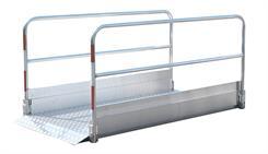 Gangbro 2,20 mtr aluminium