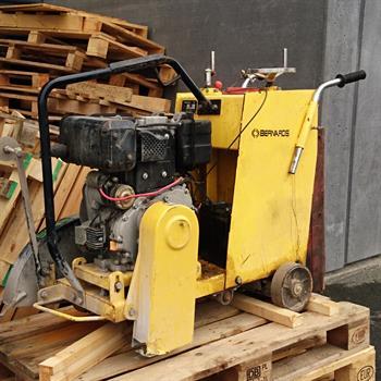 Brugt Bernards BS20-1S asfaltskærer, Diesel (2013)