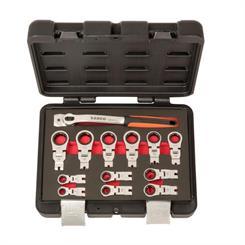 Bahco Ringskraldesæt 8-19 mm i kuffert, 12 dele, RM42/S12