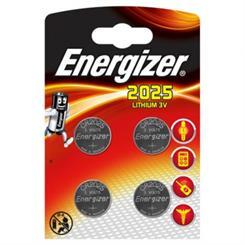 Batteri CR2025 lithium - 4 stk