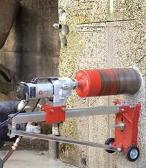Cardi 253 D Kerneboreanlæg 50-250/300 mm kpl.