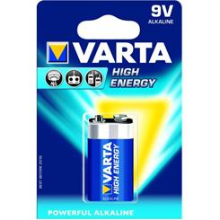 Batteri 9V Alkaline, pk. á 1 stk