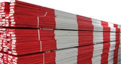 Afspærringslægte 20x70x4000 mm