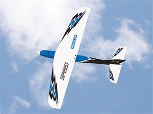 SPEED. PNP. 100cm. Inkl motor, ESC, servoer, propel og spinner. Blå