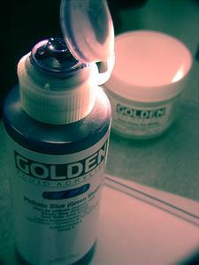 Fluid Quinaridone Nickel Azo Gold, 30 ml.